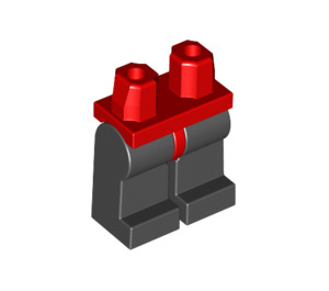 LEGO Minifigure Hips with Black Legs (73200 / 88584)
