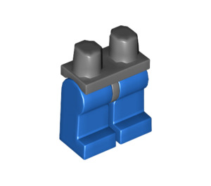 LEGO Minifigure Hips with Blue Legs (73200 / 88584)