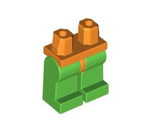 LEGO Minifigure Hips with Bright Green Legs (3815 / 73200)