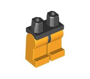 LEGO Minifigure Hips with Bright Light Orange Legs (73200 / 88584)