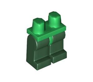 LEGO Minifigure Hips with Dark Green Legs (3815 / 73200)