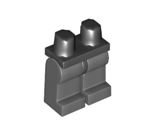 LEGO Minifigure Hips with Dark Stone Gray Legs (73200 / 88584)