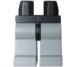 LEGO Minifigure Hips with Light Gray Legs (3815)