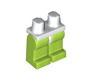 LEGO Minifigure Hips with Lime Legs (3815 / 73200)