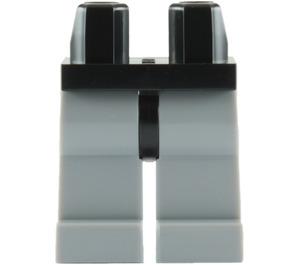 LEGO Minifigure Hips with Medium Stone Gray Legs (73200 / 88584)