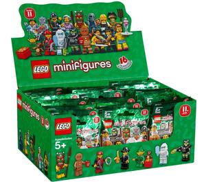 LEGO Minifigure Series 11 (Box of 60) Set 71002-18