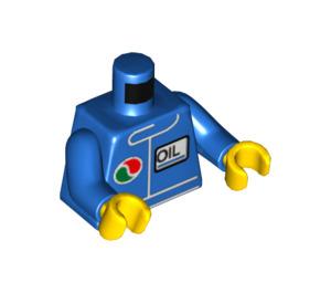 LEGO Minifigure Torso Windbreaker with Octan Logo (76382 / 88585)