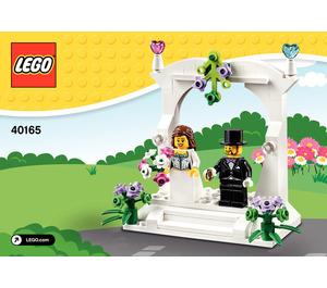 LEGO Minifigure Wedding Favour Set 40165 Instructions