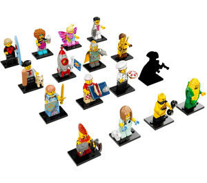 LEGO Minifigures - Series 17 - Complete Set 71018-17