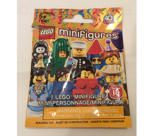 LEGO Minifigures - Series 18 Random Bag Set 71021-0 Packaging