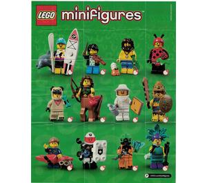 LEGO Minifigures Series 21 Random Bag Set 71029-0 Instructions