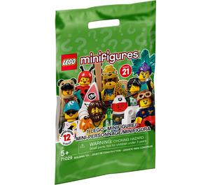 LEGO Minifigures Series 21 Random Bag Set 71029-0 Packaging