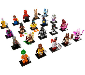 LEGO Minifigures - The Batman Movie Series - Complete Set 71017-21