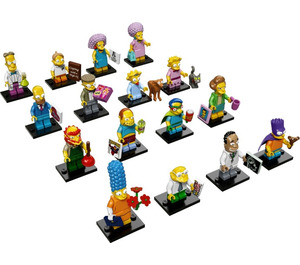 LEGO Minifigures - The Simpsons Series 2 - Complete Set 71009-17