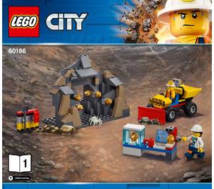 LEGO Mining Heavy Driller Set 60186 Instructions