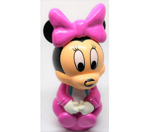 LEGO Minnie Mouse with Pink clothes Primo Figure
