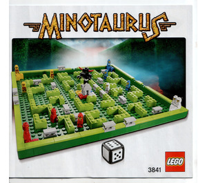 LEGO Minotaurus (3841) Instructions