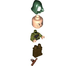 LEGO Mirkwood Elf Guard with Hood Minifigure
