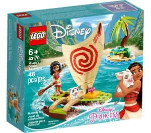 LEGO Moana's Ocean Adventure Set 43170 Packaging