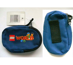 LEGO Mobile Phone Bag for Belt with LEGO World Decoration