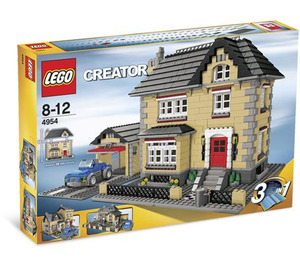 LEGO Model Town House Set 4954 Packaging