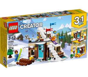 LEGO Modular Winter Vacation Set 31080 Packaging