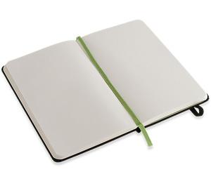 LEGO Moleskine notebook green brick, plain, small (5001128)
