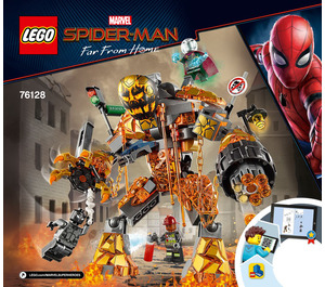 LEGO Molten Man Battle Set 76128 Instructions