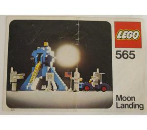 LEGO Moon Landing Set 565-1 Instructions
