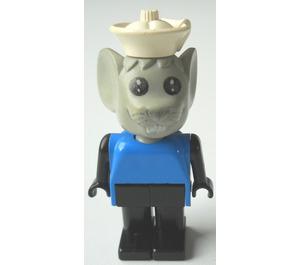 LEGO Mortimer Mouse with White Cap Fabuland Figure