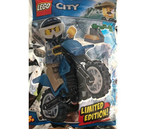 Polybag Motorcycle rider - Le policier à motocross LEGO City 951808