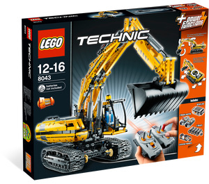 LEGO Motorized Excavator Set 8043 Packaging