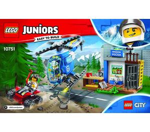 LEGO Mountain Police Chase Set 10751 Instructions