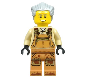 LEGO Mr. Branson Minifigure