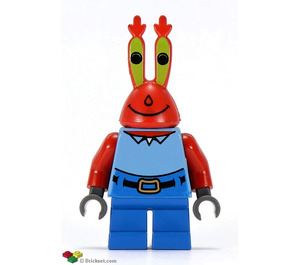 LEGO Mr. Krabs Minifigure