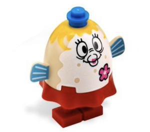 LEGO Mrs. Puff with Pink Flower Minifigure