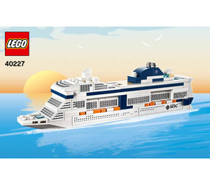 LEGO MSC Meraviglia Set 40227 Instructions