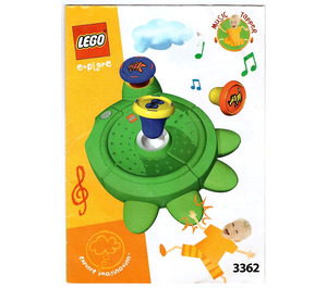 LEGO Music Tapper Set 3362 Instructions