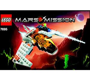 LEGO MX-11 Astro Fighter  Set 7695 Instructions