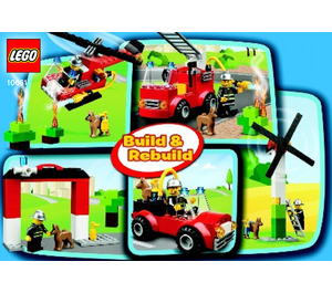 LEGO My First Fire Station Set 10661 Instructions