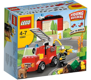 LEGO My First Fire Station Set 10661 Packaging