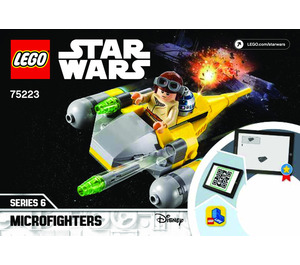 LEGO Naboo Starfighter Microfighter Set 75223 Instructions