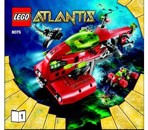 LEGO Neptune Carrier Set 8075 Instructions