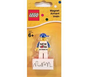 LEGO New York Minifigure Magnet (853599)