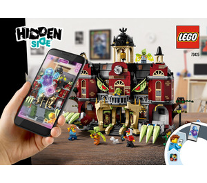 LEGO Newbury Haunted High School Set 70425 Instructions
