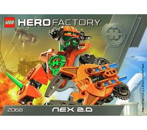 LEGO Nex 2.0 Set 2068 Instructions