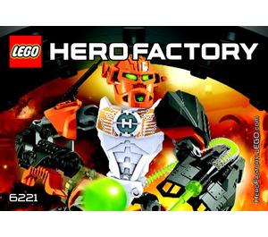 LEGO NEX 6221 Instructions