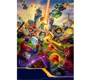 LEGO Nexo Knights Poster - Set 5004388-1 (43920819203)