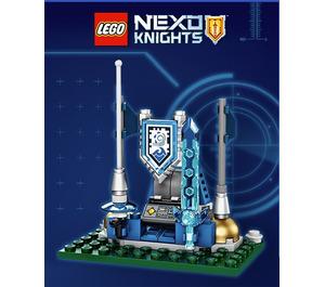 LEGO Nexo Knights Shield Dock  Set TRUNEXO