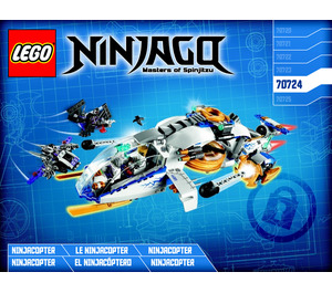 LEGO NinjaCopter Set 70724 Instructions